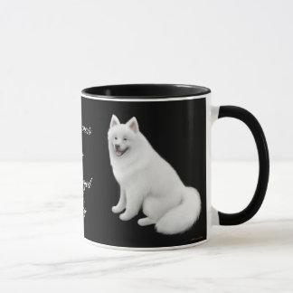 Samoyed Dog Ringer Mug