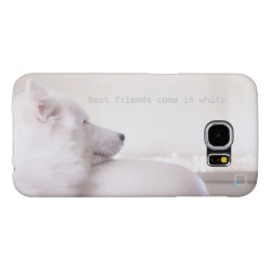 Case-Mate Barely There Samsung Galaxy S6 Case with Samoyed Phone Cases design