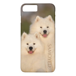 Case-Mate Tough iPhone 7 Plus Case with Samoyed Phone Cases design