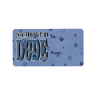Samoyed DUDE Label