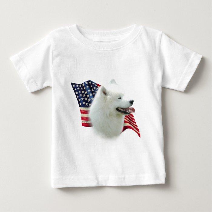 Samoyed Flag Baby T-Shirt