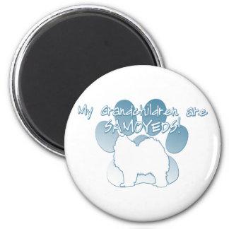 Samoyed Grandchildren Magnet