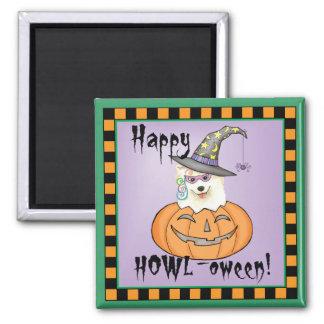 Samoyed Halloween Magnet