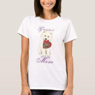 Samoyed Heart Mom T-Shirt