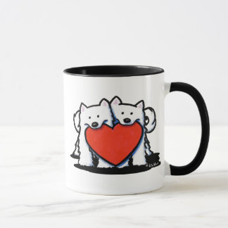 Samoyed Heartfelt Duo Mug