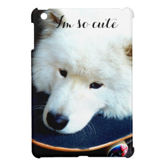 Samoyed I'm so cute iPad mini case