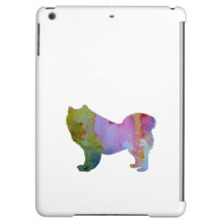 Case Savvy Glossy Finish iPad Air Case with Samoyed Phone Cases design