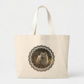 Samoyed Jumbo Tote Bag