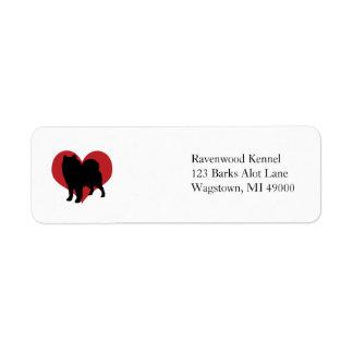 Samoyed Label