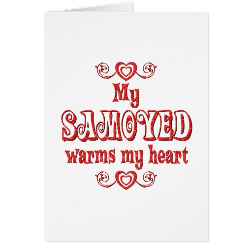SAMOYED Love Card