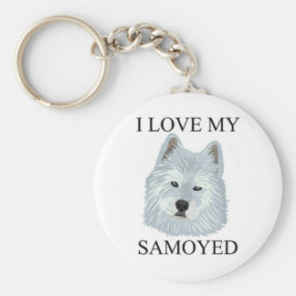SAMOYED Love! Keychain
