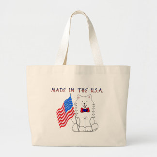 Samoyed Made In The USA Tote Bag