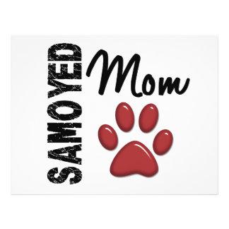 Samoyed Mom 2 Flyer Design