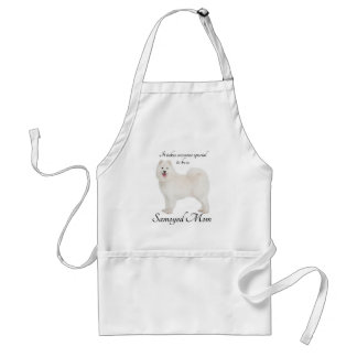 Samoyed Mom Barbeque/Grooming Apron