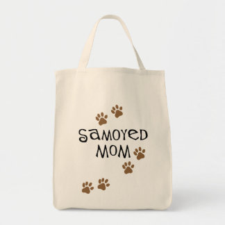 Samoyed Mom Canvas Bags