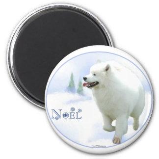 Samoyed Noel Magnet
