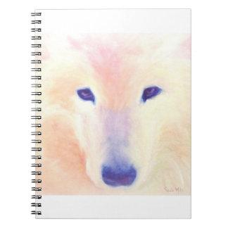Samoyed Notebook, White Wolf