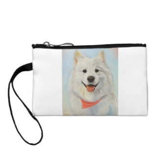 Samoyed Painting Coin Wallet