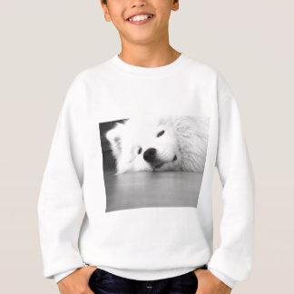 Samoyed Photo Dog White Sweatshirt