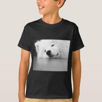 Samoyed Photo Dog White T-Shirt