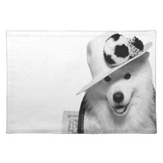 ¡Samoyed Placemat ¡Juego de manteles individuale