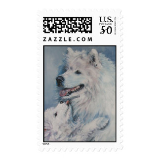 samoyed postage stamps