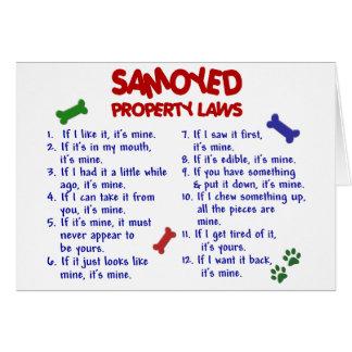 SAMOYED Property Laws 2 Card