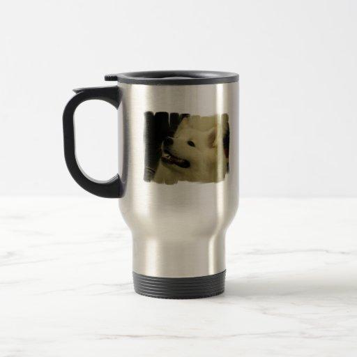 Samoyed Puppy Travel Mug
