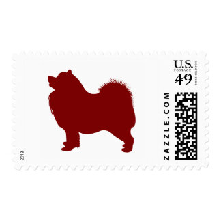 Samoyed (Red) Stamps