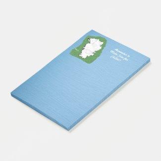 Samoyed Relaxation Post-It® Notes, 4