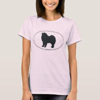 Samoyed Silhouette T-Shirt