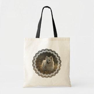 Samoyed Small Canvas Tote Bag