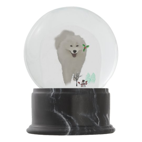 Samoyed Snow Globe