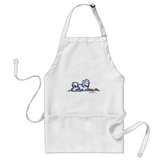 Samoyed Time Out Adult Apron