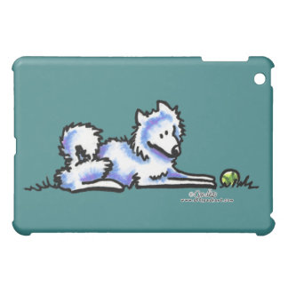 Samoyed Time Out Cover For The iPad Mini