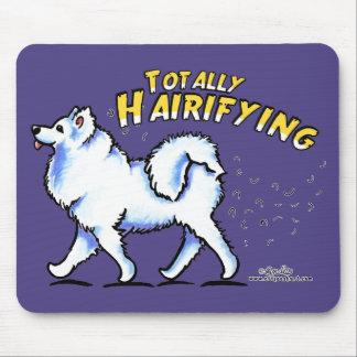 Samoyed Totally Hairifying Mouse Pad
