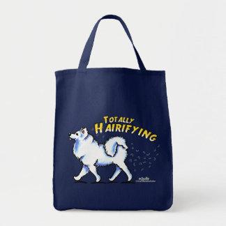 Samoyed Totally Hairifying Tote Bag