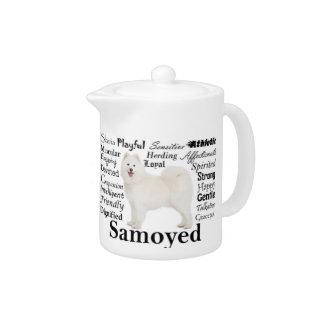 Samoyed Traits Teapot