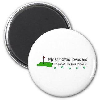 Samoyedo Imán De Frigorífico