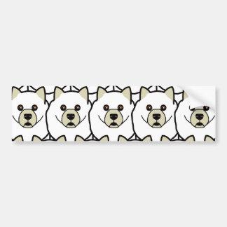 Samoyeds Bumper Sticker