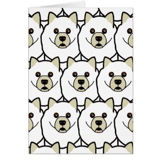 Samoyeds Card
