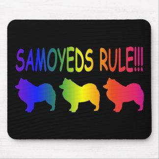 Samoyeds Rule Mouse Pad