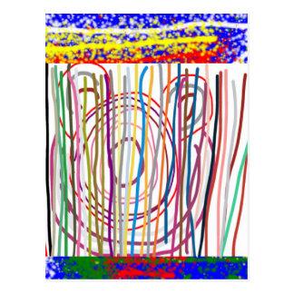 SAMPADA embroma el extracto: LÍNEA espectro del AR Postales