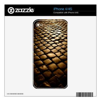Sampietrini Decal For iPhone 4