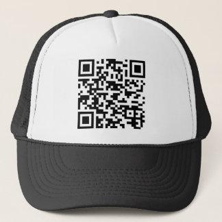 Sample Bitcoin QR Code Trucker Hat