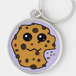Sample chocolate chip cookie key chain purple