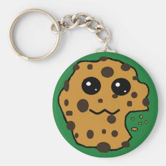 Sample chocolate chip cookie keychain