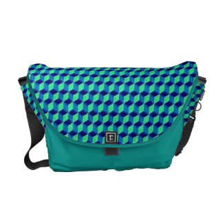 Sample cube pattern cubes courier bag