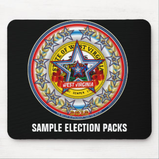 Sample Election Packs Mouse Pad