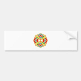 Sample Indian pattern native American Bumper Sticker